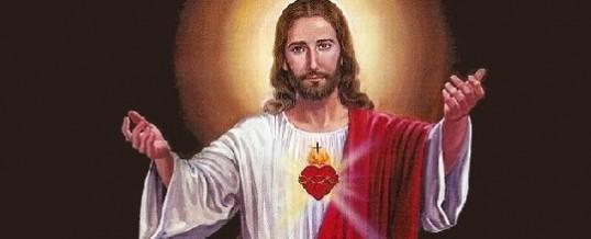 Mês de Junho – Dedicado ao Sagrado Coração de Jesus